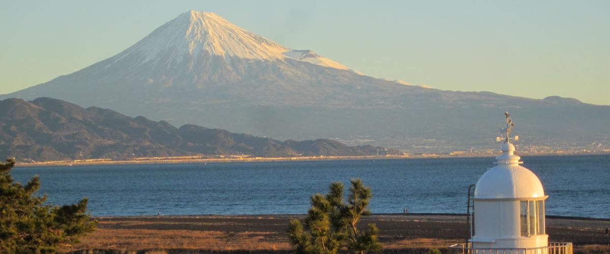 三保 富士山